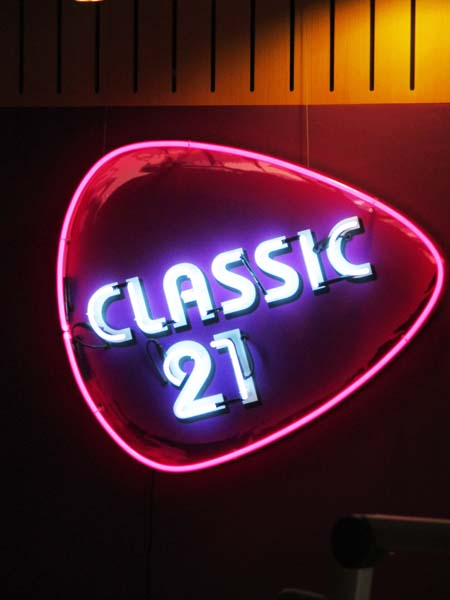 Visite de Classic 21