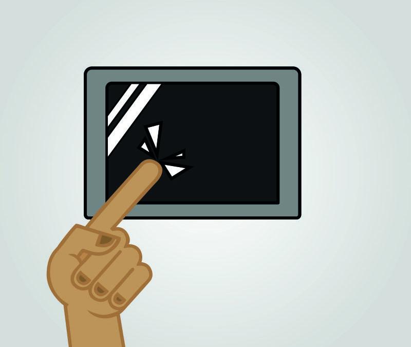 L'écran tactile